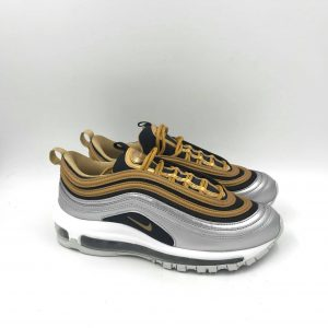 NIKE AIR MAX 97 AQ4137 700 SILVER/GOLD