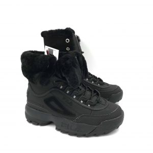 FILA DISRUPTOR SHEARLING BLACK