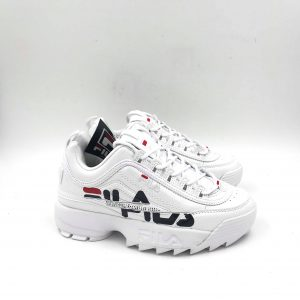 Fila Disruptor II Colore White-Navy-Red 0033361e34c