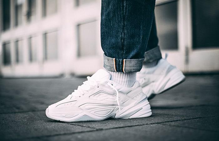 Nike-M2K-Tekno-Triple-White Nike-M2K-Tekno-Triple-White Sneaker Bianca