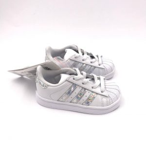 ADIDAS SUPERSTAR KIDS CG6707 WHITE ( DAL 19 AL 27 )