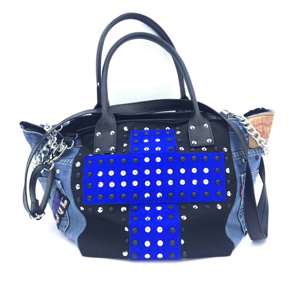 GAGLIOTTA BAG PATCH BLUE