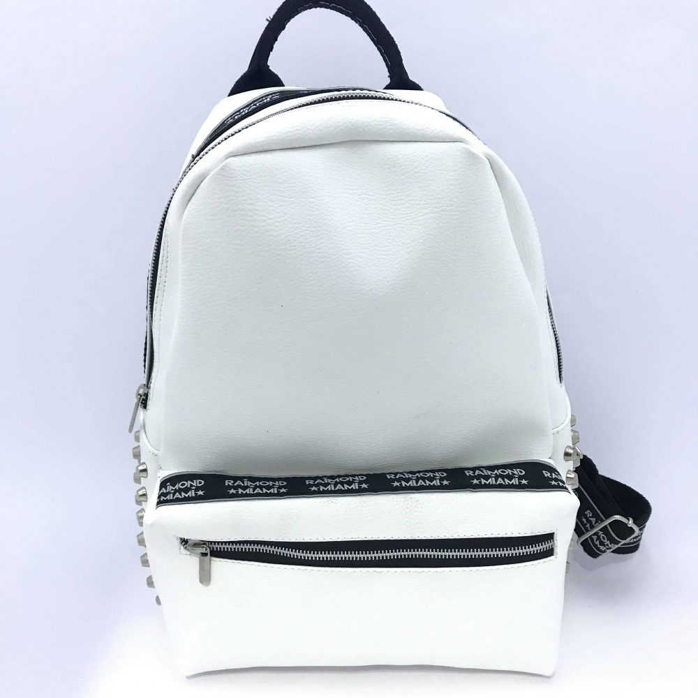 RAIMOND MIAMI BISCAYNE BAG WHITE