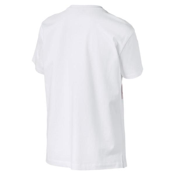 PUMA T-SHIRT 575914 02 WHITE/PINK