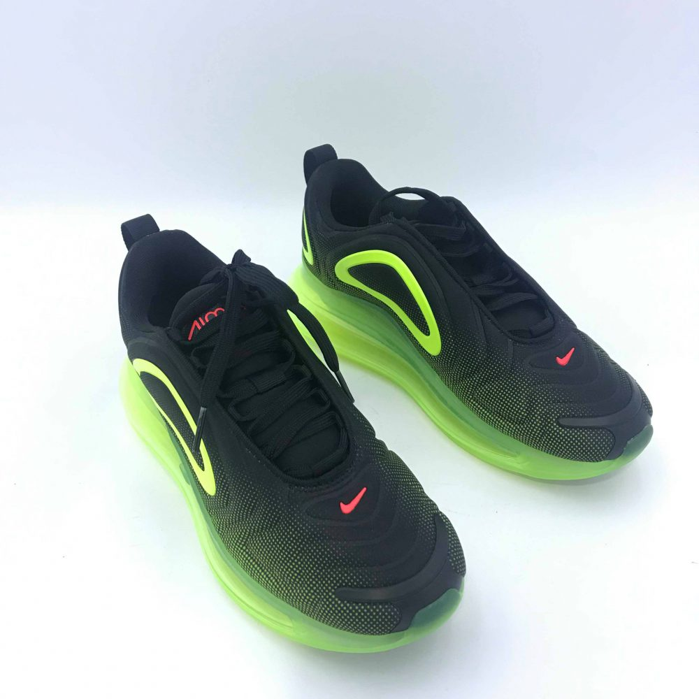 NIKE AIR MAX 720 GS AO2924 008 BLACK/YELLOW