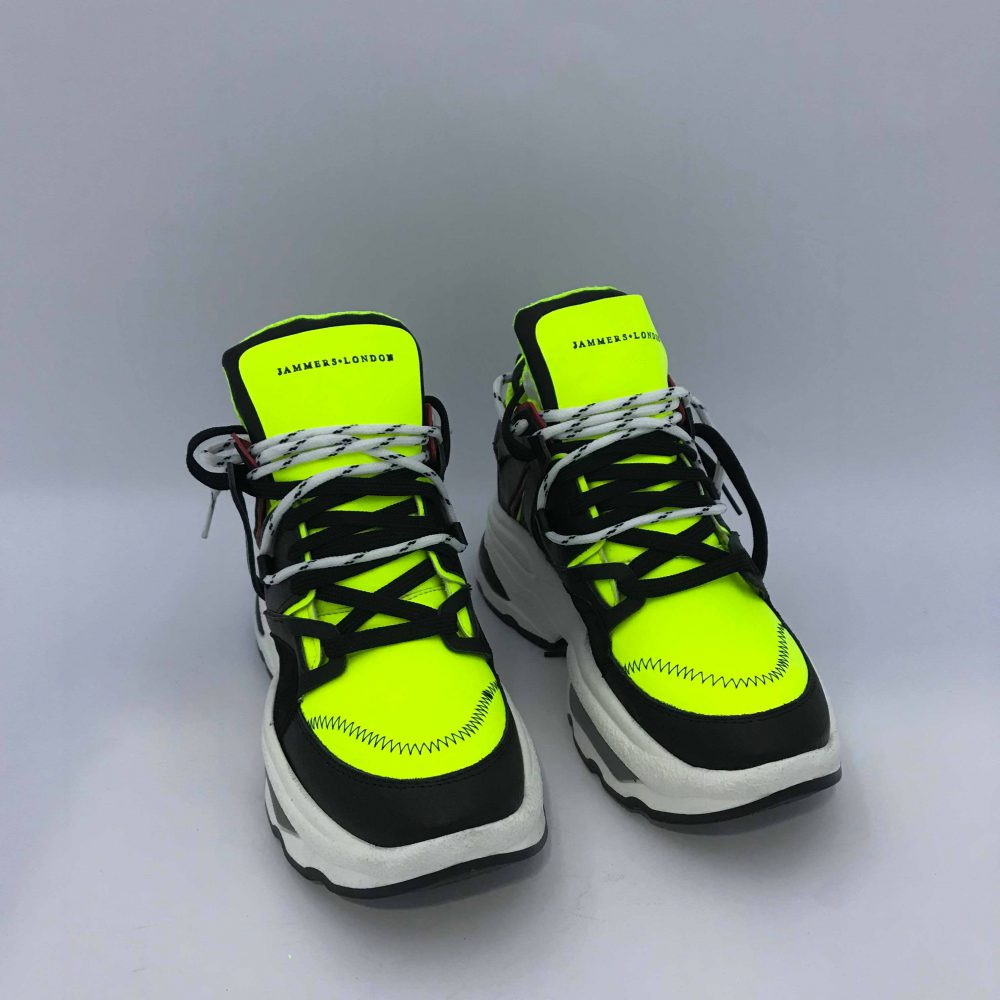 JAMMERS LONDON QUADRY1 FLUO GIALLO