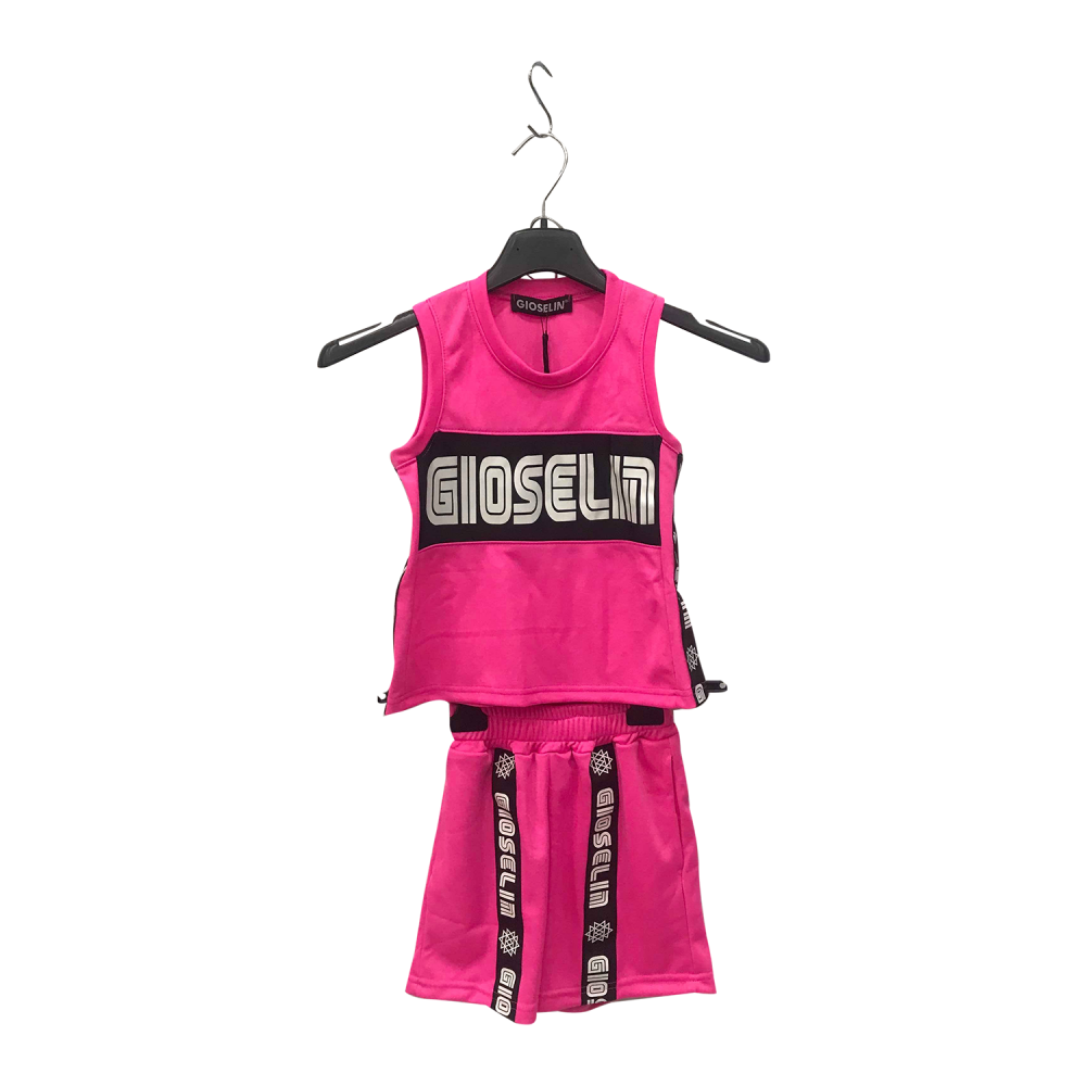 GIOSELIN COMPLETO BASKET FUXIA BABY